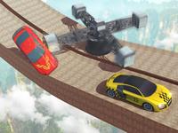 Mountain Climb - Mega Ramp Car Stunts Game
