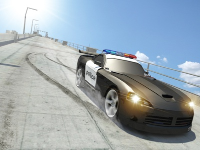 Police Car Driving Simulator - City Police Car Driving Game