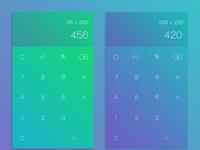 DailyUI Challange - Calculator