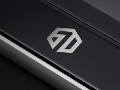 6 7 D logo design