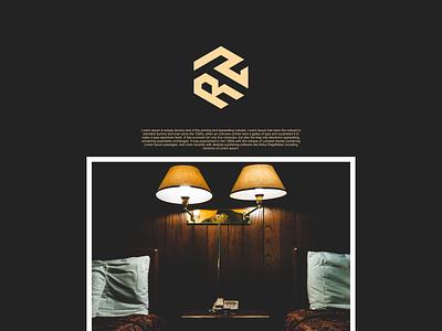 RTR monogram logo illustration identity flat illustrator graphic design vector branding logo icon design