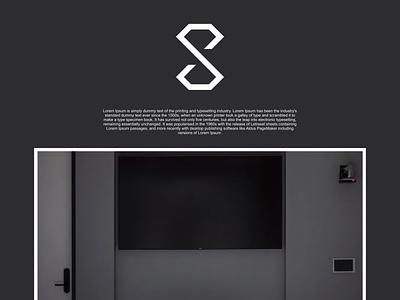 S diamond logo illustration identity flat illustrator graphic design vector branding logo icon design