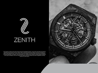 Z  monogram logo illustration identity flat illustrator graphic design vector branding logo icon design