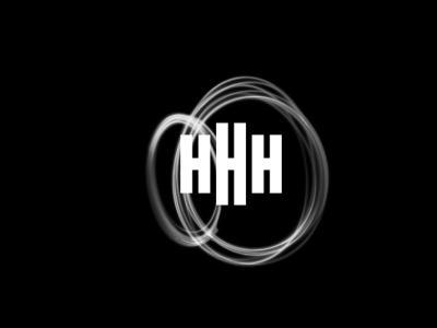 HHH letter logo design illustration