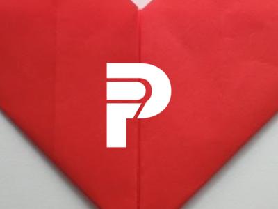 P  letter logo design