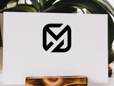 MS letter logo design