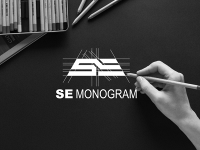 SE monogram logo