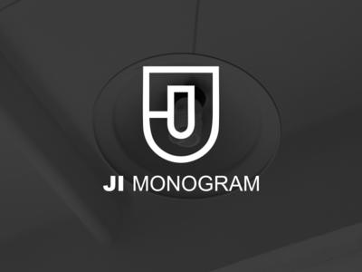 JI monogram logo