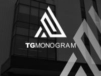TG monogram logo