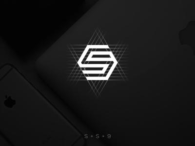 SS9 logo design