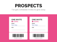 Two Dribbble invites to give away!