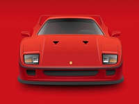 Ferrari F40 (The clean version)