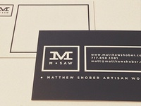M.Saw Business Cards