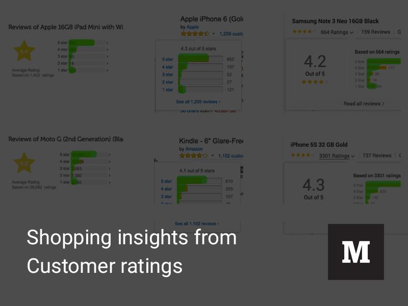 Customer Ratings Pattern patterns customer ratings snapdeal amazon flipkart