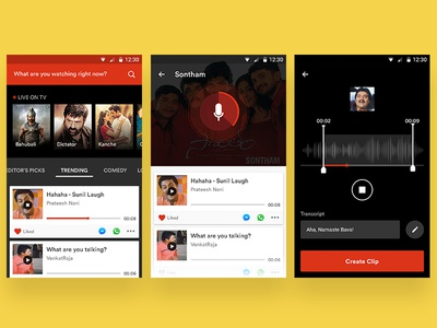 Share Audio Clips
