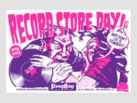 StingRay Records - Record Store Day poster