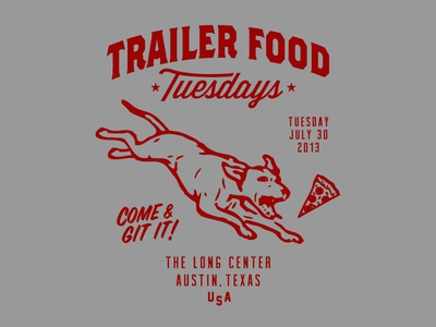 Trailer Food Tuesday - shirt graphic