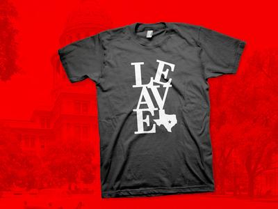 LEAVE Austin - (unofficial) SXSW shirt