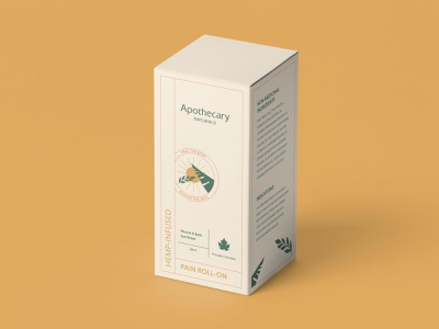 Apothecary Naturals cosmetic packaging wellness logo design cbd packaging cannabis packaging cosmetic mockup cosmetic packaging design packaging layoutdesign typography cbd cannabis illustration branding logo brand identity design