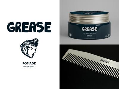 Grease Pomade Branding
