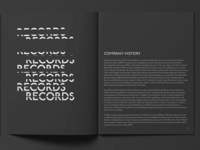 Annual Report Record Company
