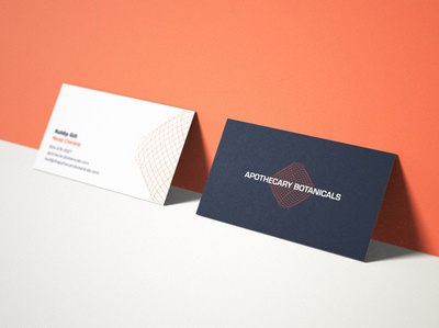 Apothecary Botanicals Business Card