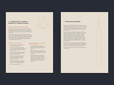 Apothecary Botanicals Document Layout