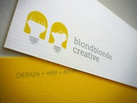 BlondBlonde Creative Business Cards