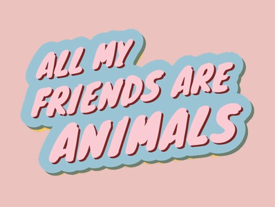 All My Friends Are Animals Logo