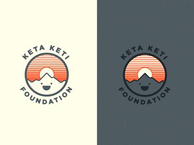 Keta Keti Foundation charity nepal mountian badge logo