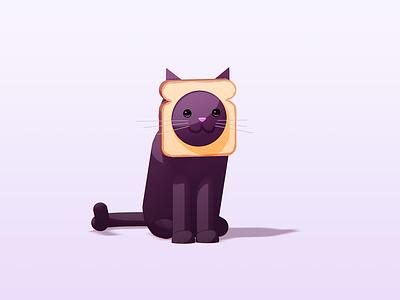 Does this cat look inbred? inbred cat character cinema4d c4d illustration cat
