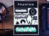 New sticker sheets at Phantom