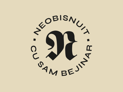 Unusual podcast font icon geometry logotype letters branding badge brand monogram logo