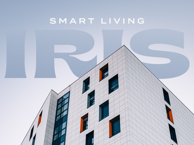 Smart Living real estate typeface font geometry logotype letters branding badge brand logo