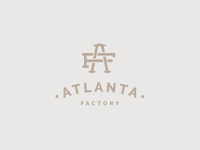 AF monogram texture monogram logo letters geometry brand