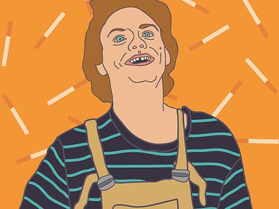 Mac Demarco fanart singer music digital illustration drawing draw wip macdemarco
