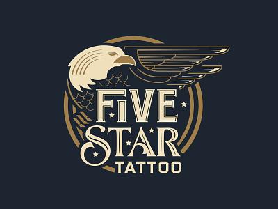 Five Star Tattoo tattoos eagle illustration tattoo ink louisville kentucky stars