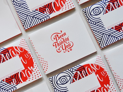 Promo Mailers lettering mailer poster print