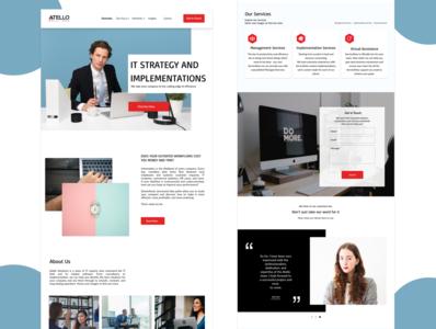Website redesign concept ui redesign website redesign website concept website design design ui ui design
