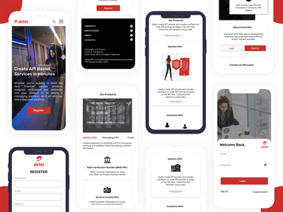 Website mobile view design responsive design responsive website api ui design mobile app ui design
