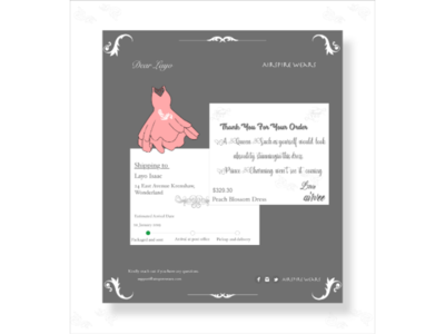 Email receipt ux wireframe ui design daily ui challenge email receipt