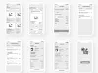 Coffee Ordering App - Wireframe