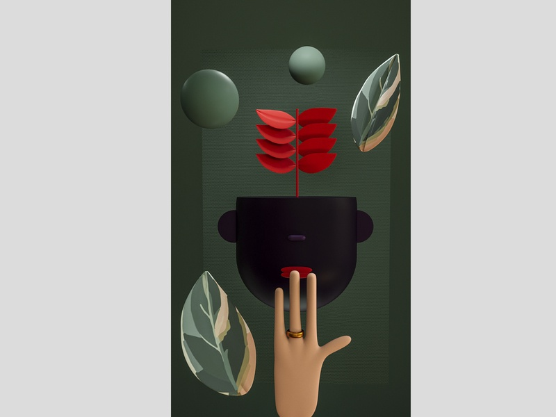 3D Illustration artwork illustraion cinema4d minimalistic modern design
