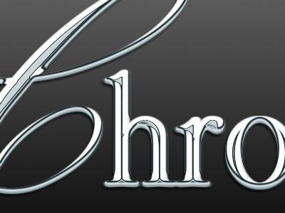 Chrome Chrome chrome metal reflection