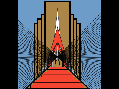 Art Deco Reproduction by Dave Hogue - Dribbble