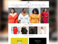Online fashion store more detailed view
