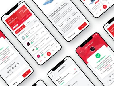 Discount and Deals App Screen