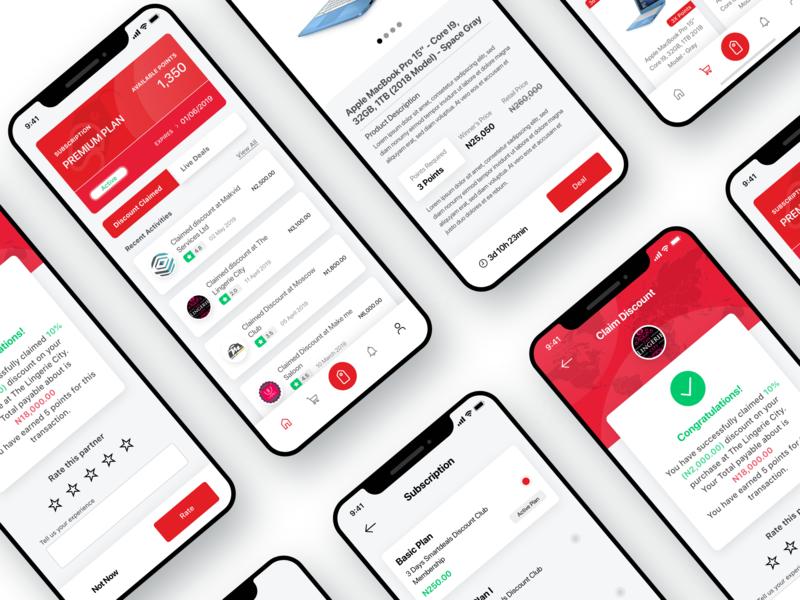 Discount and Deals App Screen ecommerce app ecommerce app dashboard ui ux ui  ux mobile design mobile app mobile ui