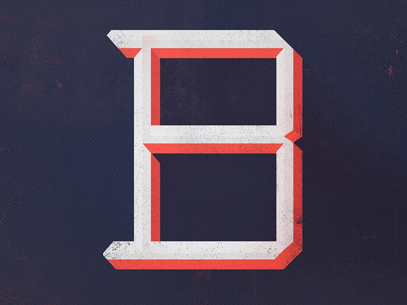 Typefight B! lettering typefight