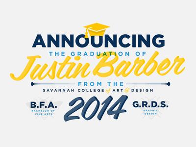 The College Grad Badge